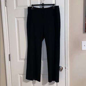 💙Ann Taylor Loft Julie Fit Black Trousers 12P